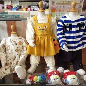 アシュメリー店舗風景ベビー服子ども服